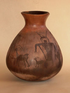Rock Art Vessel Pottery